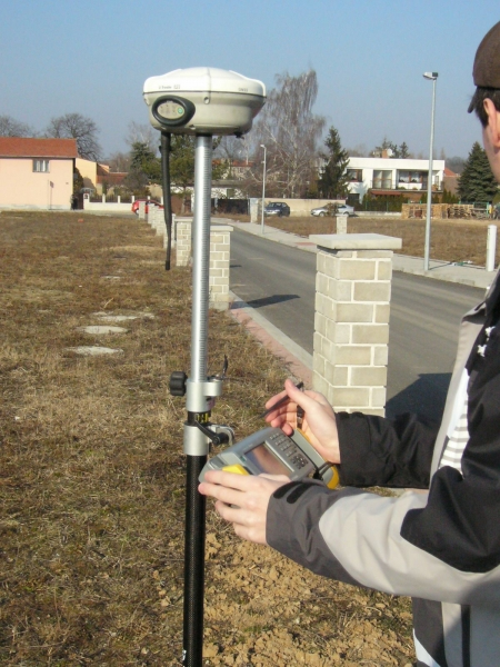 GPS měření